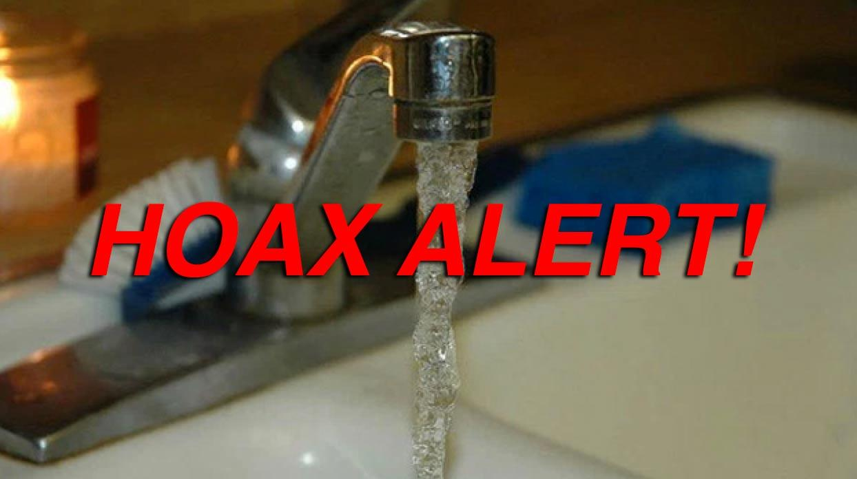 Hoax: New York City Tap Water Does NOT Contain 11% Molly and 6% Oxycodone