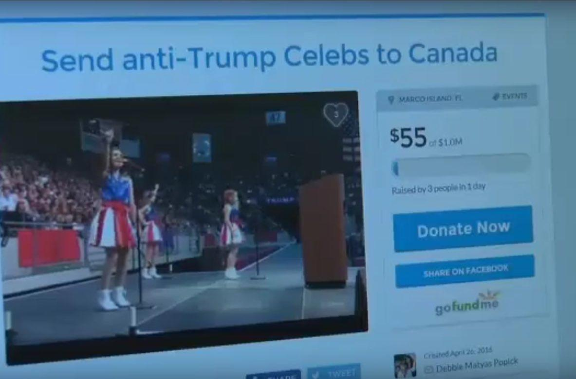 USA Freedom Kids Offer Celebs Who Don't Like Donald Trump $25,000 To Move To Canada