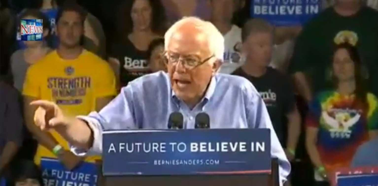 Watch LIVE Stream: Bernie Sanders Speaks At Santa Cruz, California Rally, May 31