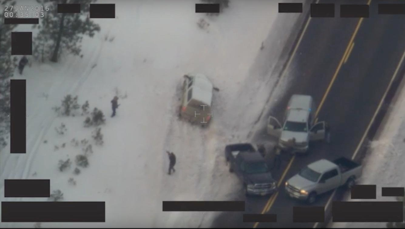 Graphic Video: LaVoy Finicum Shooting Enhanced and Zoomed