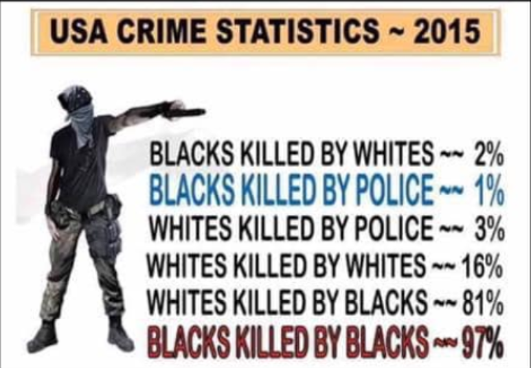 Fact Check: 2015 USA Crime Statistics Do NOT Show