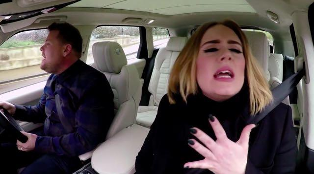 More Proof Adele Is The Best: Carpool Karaoke With James Cordon