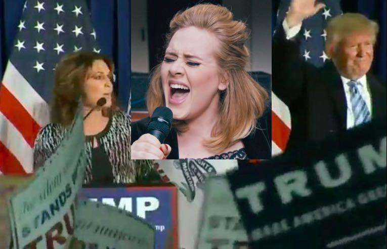 Adele To Donald Trump: Hello! Stop Playing My Songs At Your Rallies!
