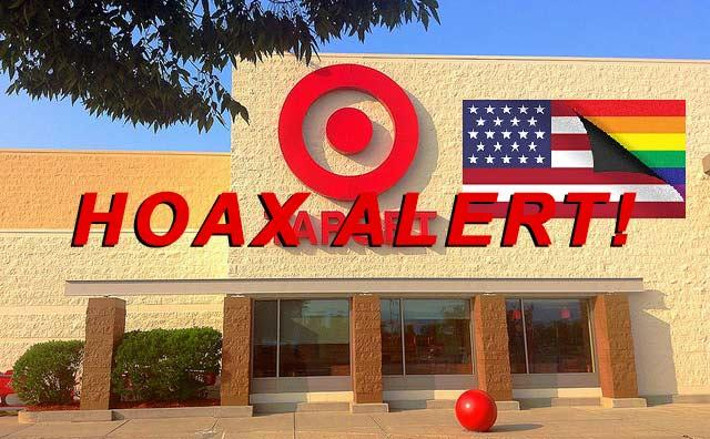 Target IS NOT To Discontinue Sales Of The American Flag