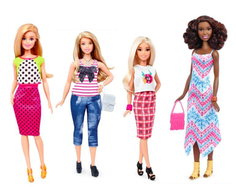 Meet The New Barbie: Mattel Gives Doll Makeover To Look Like Real Women