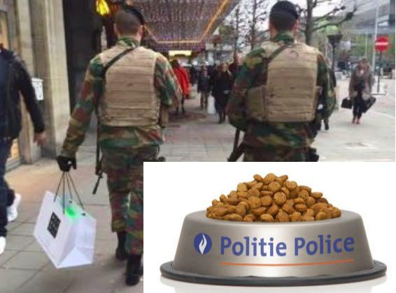Belgian Soldiers & Police Probed For #BrusselsLockdown Orgy