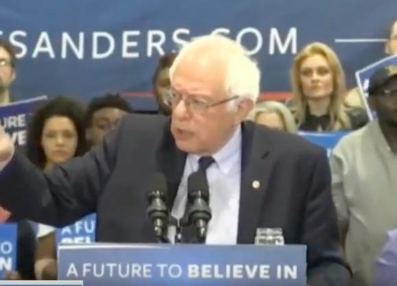 Watch LIVE Stream: Bernie Sanders Speaking At Erie, Pennsylvania, Rally