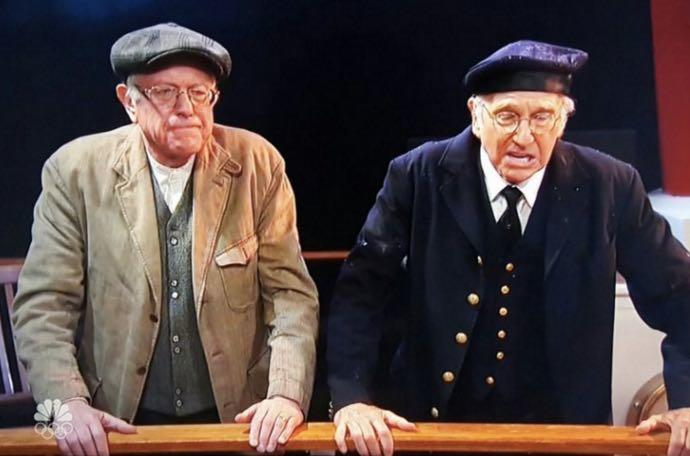 Bern Your Enthusiasm: Bernie Sanders Meets Larry David On SNL