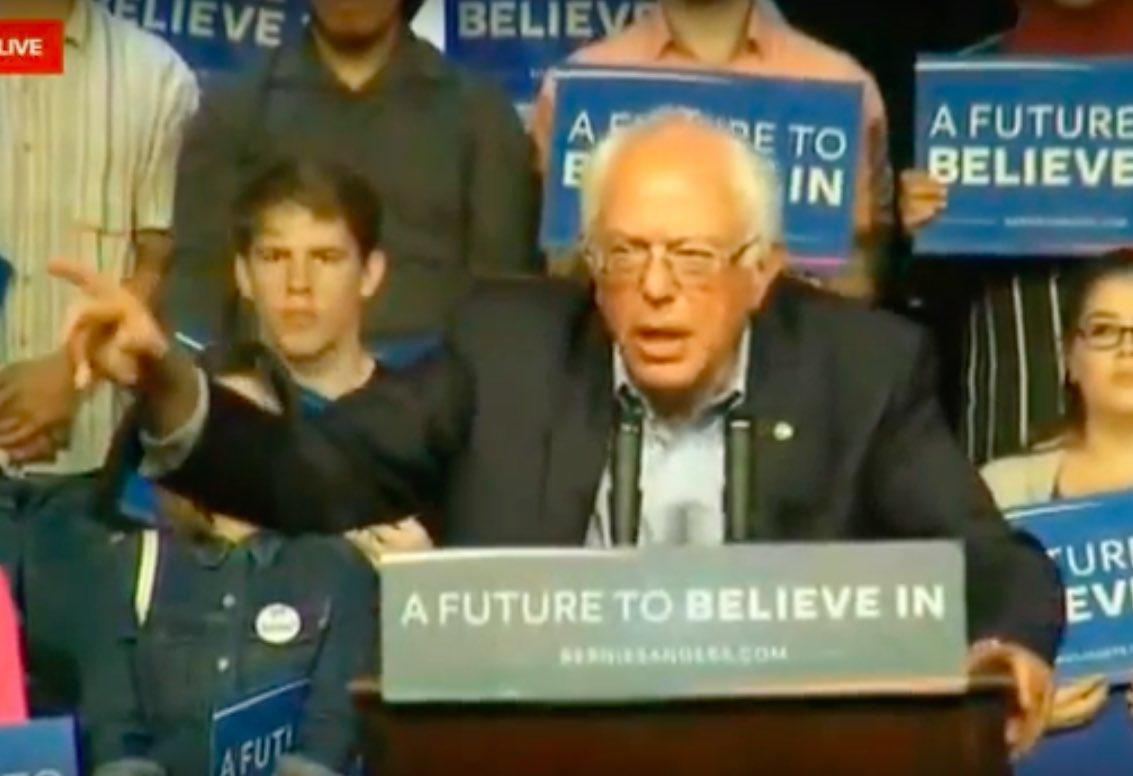 Watch LIVE Stream: Bernie Sanders At Riverside, California Rally Tuesday, May 24
