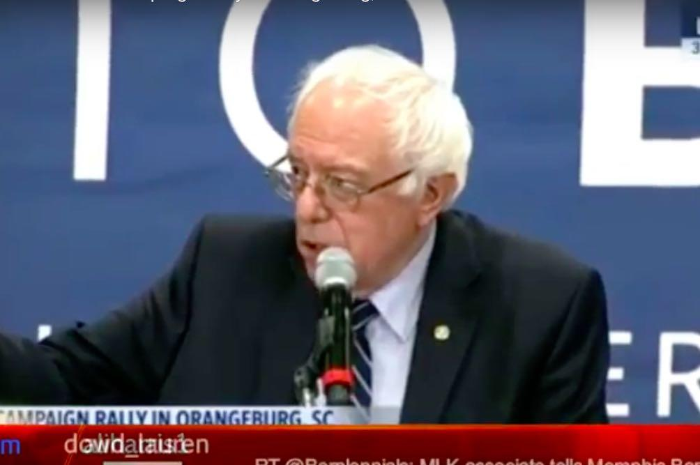 LIVE STREAM: Bernie Sanders Speaking To Rally in Orangeburg, South Carolina