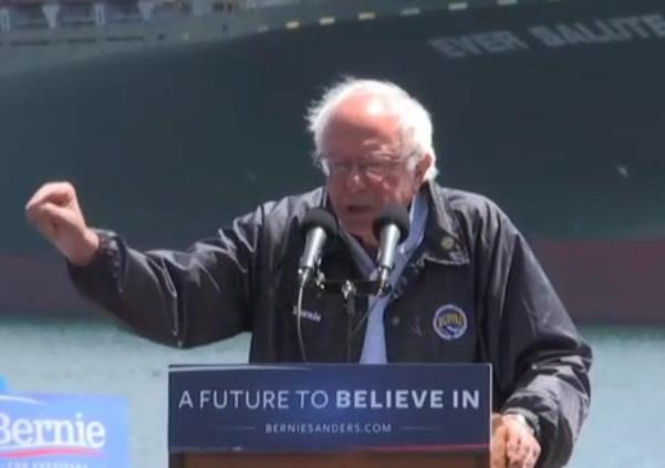 Watch LIVE Stream: Bernie Sanders At San Pedro, California Rally Friday