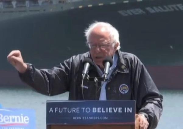 Watch LIVE Stream: Bernie Sanders At San Pedro, California Rally Friday