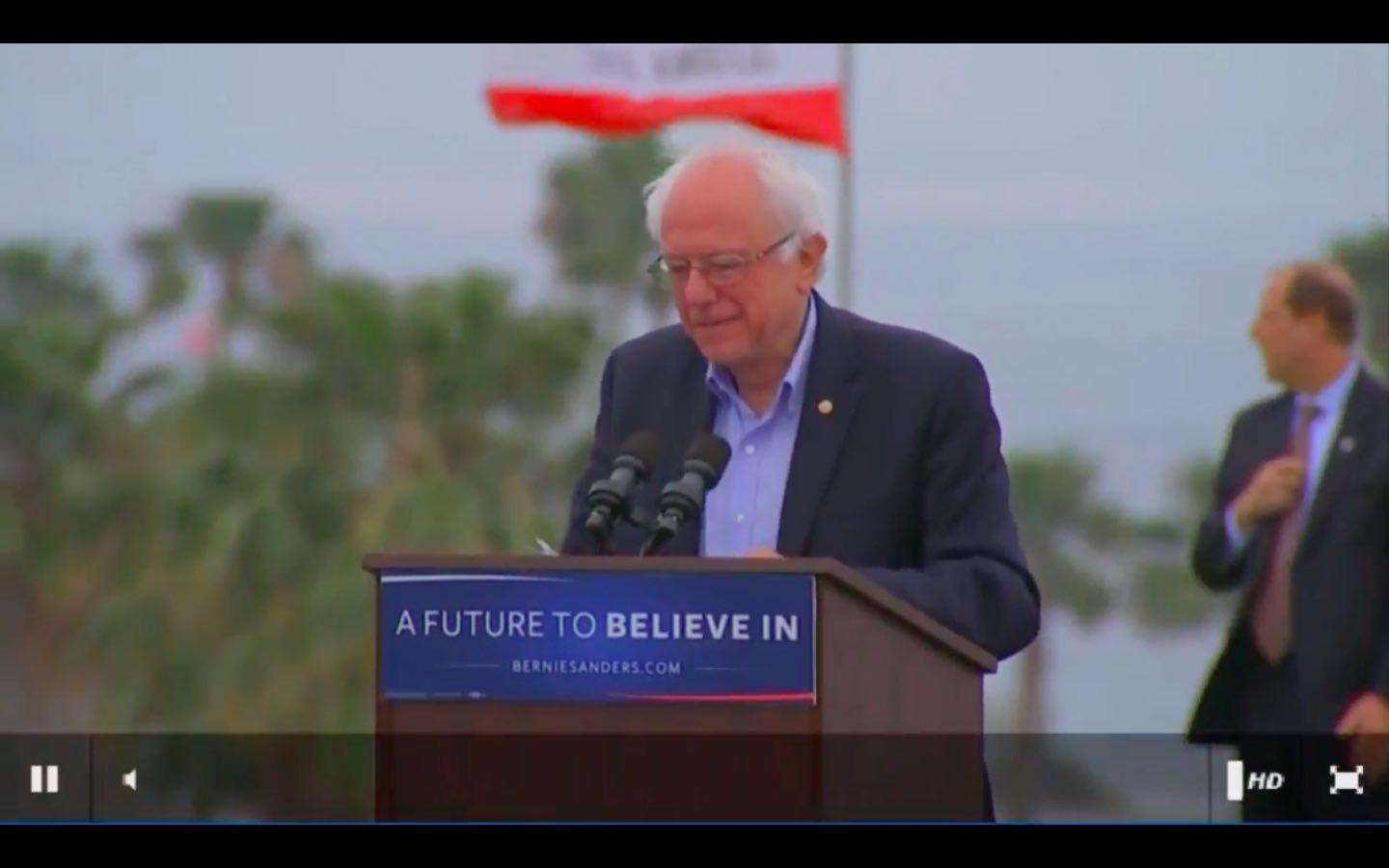 Watch Replay: Bernie Sanders At Fresno, California Rally Sunday, May 29