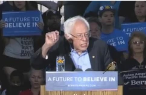 Watch LIVE Stream: Bernie Sanders At Vallejo, California Rally
