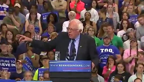 Watch LIVE Stream: Bernie Sanders Speaks At Huntington, West Virginia