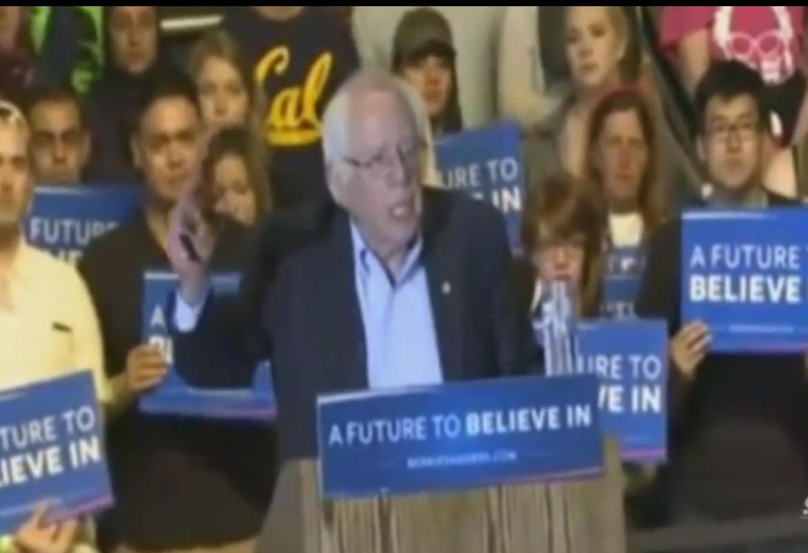 Watch LIVE Stream: Bernie Sanders At Stockton, California Rally