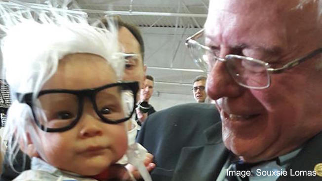 'Bernie Baby,' Youngest Star Of Sanders Campaign, Dies Of SIDS