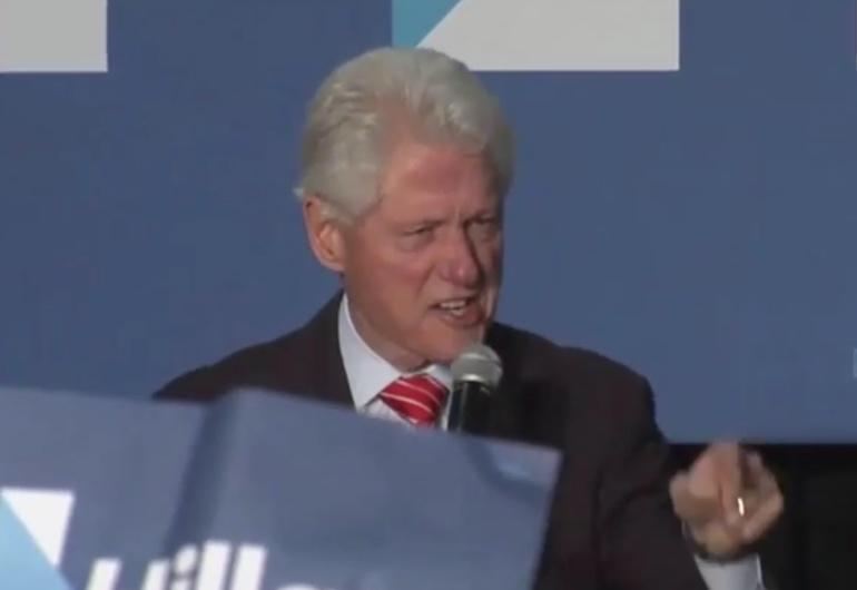 Bill Clinton Schools 'Black Lives Matter' Protesters On '90's Crime & Welfare Reforms