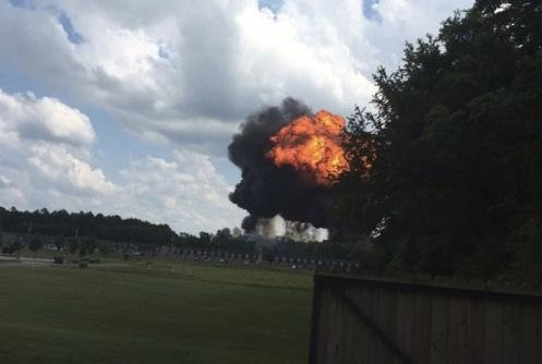 Blue Angels Jet Crashes In Tennessee, Hours After Thunderbird Mishap