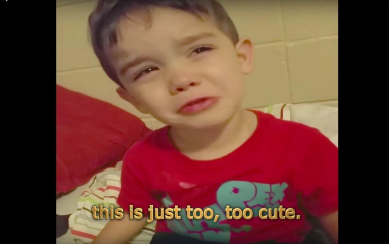 Viral Kid Video: Whiney Boy Complains Dinner Is 'Too Cute' To Eat