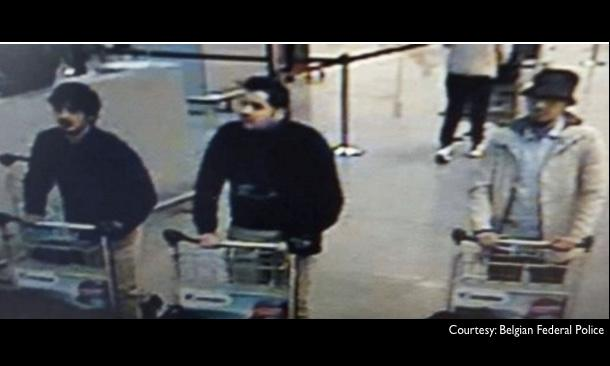 Police Issue Alert For Brussels Airport Bombing Suspects