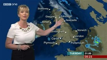 Hoax Alert: BBC's Carol Kirkwood Did NOT Say 'cold as f*ck' During Weather Forecast