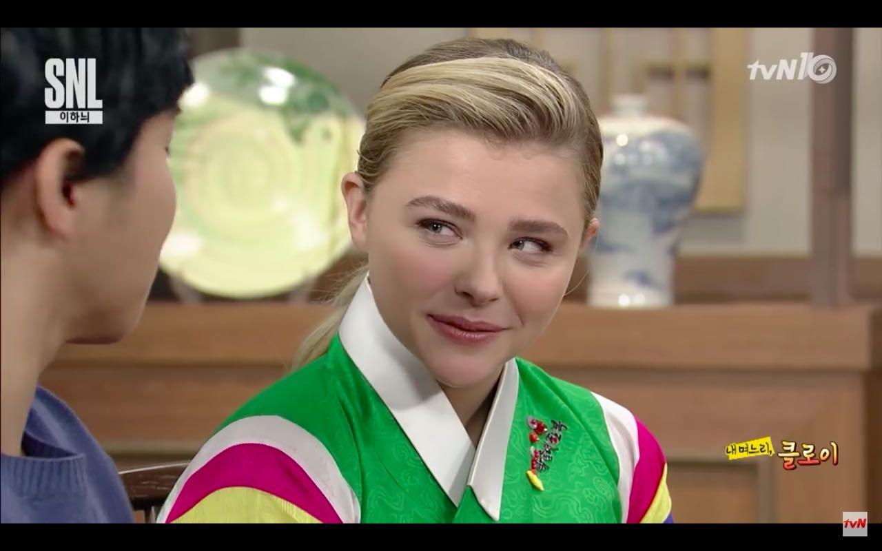 Video: Chloe Grace Moretz Speaks Korean in Seoul's 'SNL'