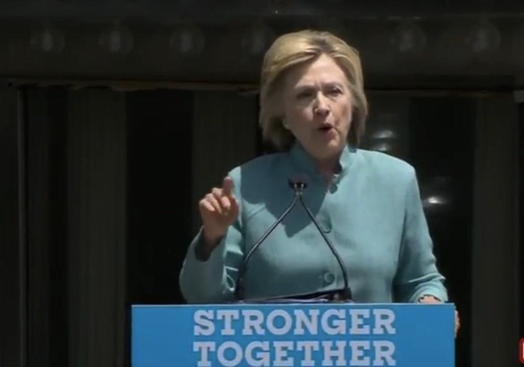Watch Replay: Hillary Clinton Attacks Donald Trump At Atlantic City Rally Wednesday, July 6