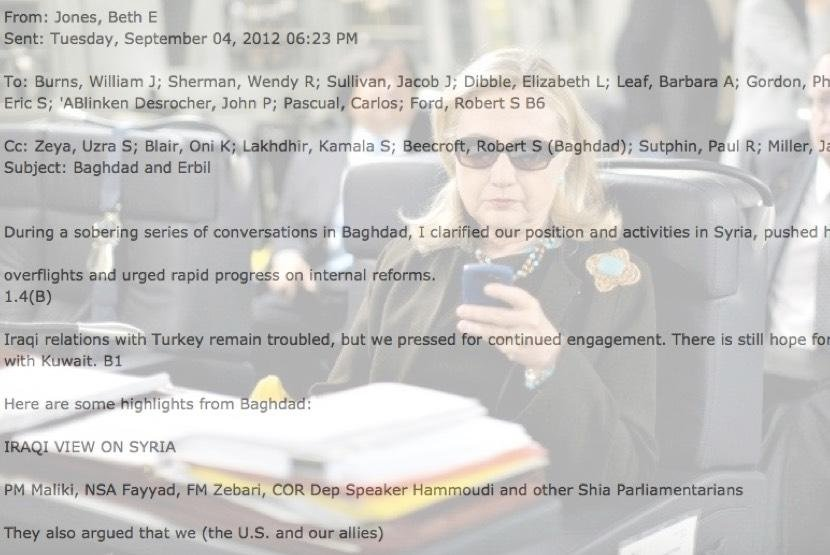 Time To Kill? Search 1,258 Hillary Clinton Iraq Emails Just Leaked By WikiLeaks