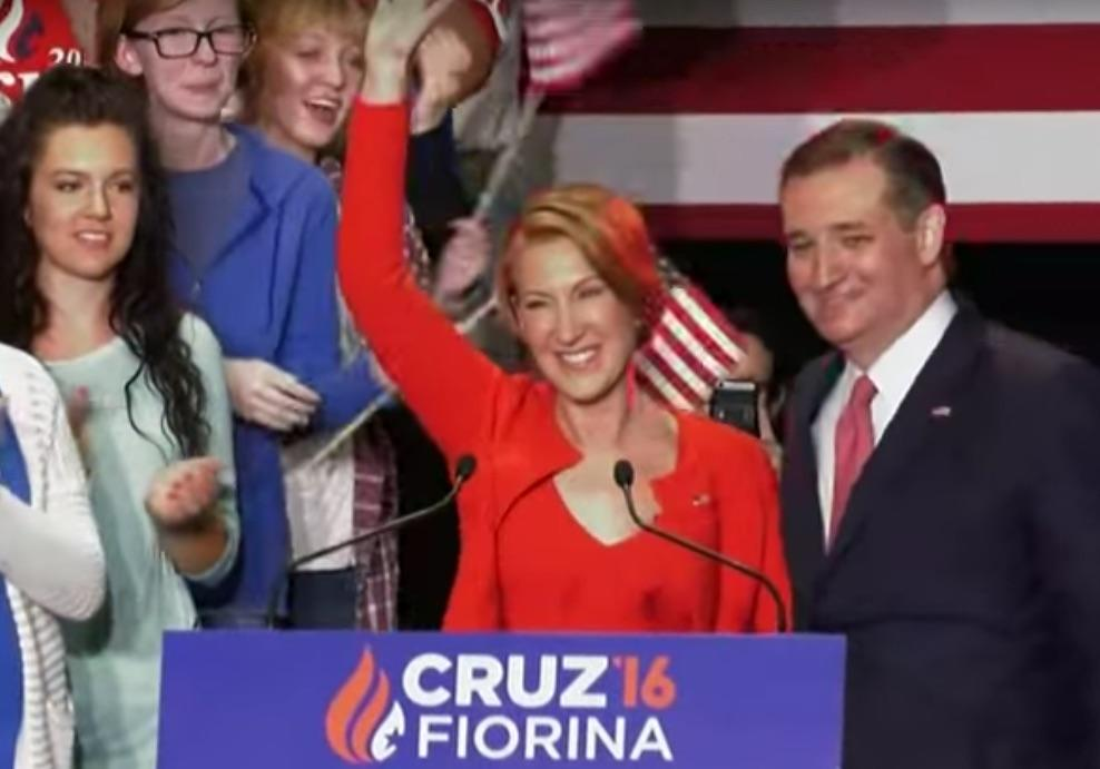 Ted Cruz Announces Carly Fiorina As His Veep Running Mate