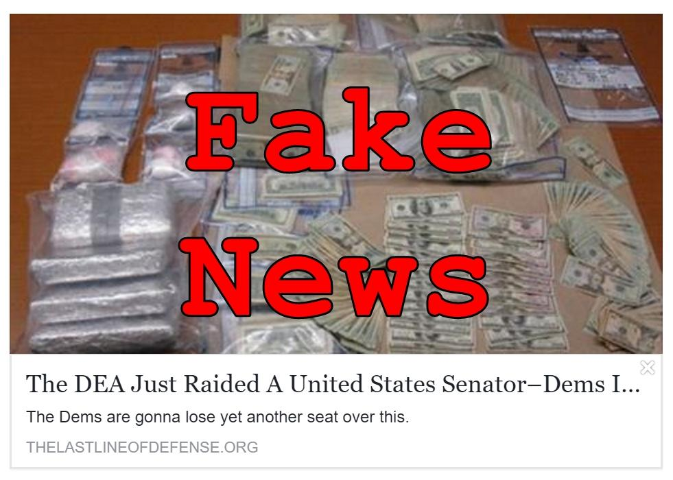 Fake News: DEA Did NOT Raid Ranch of Democrat Senator Hal Lindsay