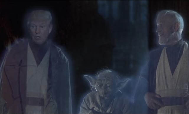 May The Trump Be With You: Parody Video Puts 'Darth Trump' In 'Star Wars'