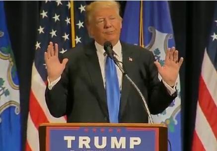 Watch LIVE Stream: Donald Trump Speaks At Bridgeport, Connecticut Rally