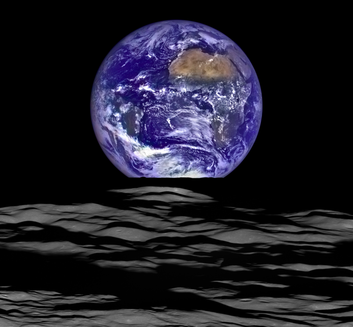 Home, Sweet Home: NASA's Newest Earth Selfie From The Moon