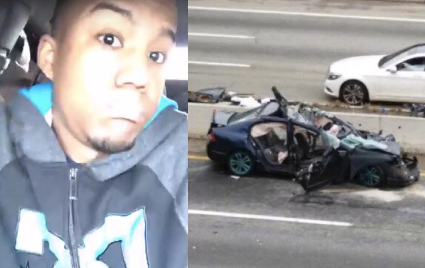Video: Young Driver's 116 MPH Facebook Live Stream Ends In Disaster