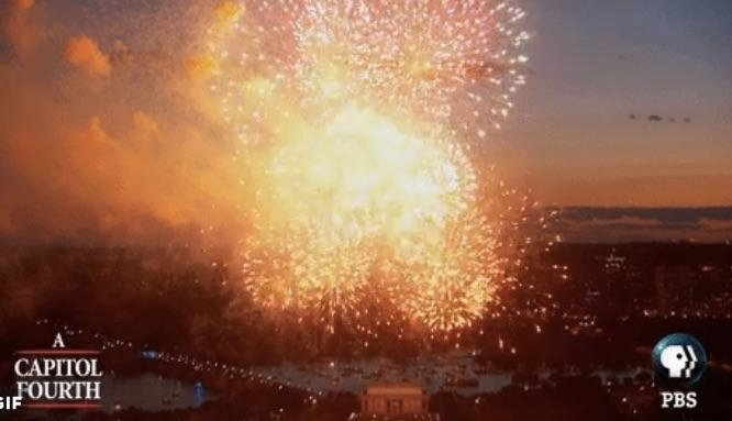 Faked Fireworks! PBS Confesses 'Live' 4th of July Fireworks Show Was 'Combination' Of Past Years