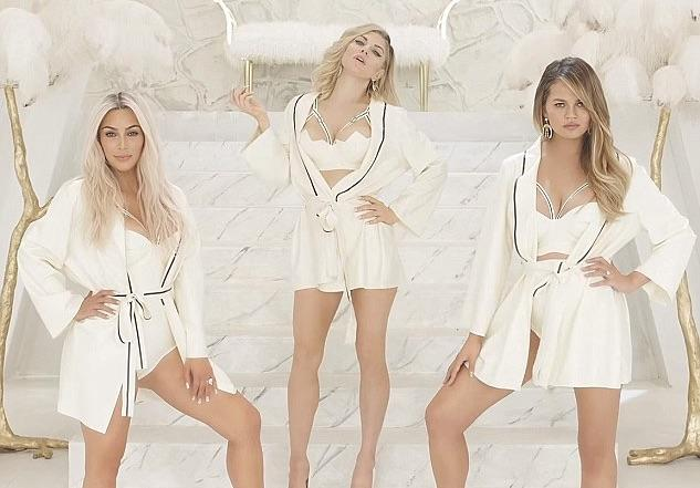 Watch: Kim Kardashian, Chrissy Teigen, Ciara & Alessandra Ambrosio Join Mom Squad On Fergie's 'M.I.L.F. $' Video