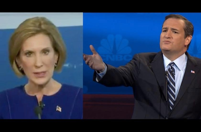Carly Fiorina Jumps On Ted Cruz Bandwagon: He's 'A Fearless Fighter'