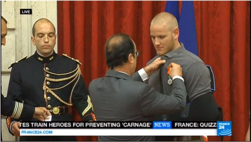 American, British Train Heroes Awarded France's Légion d'Honneur