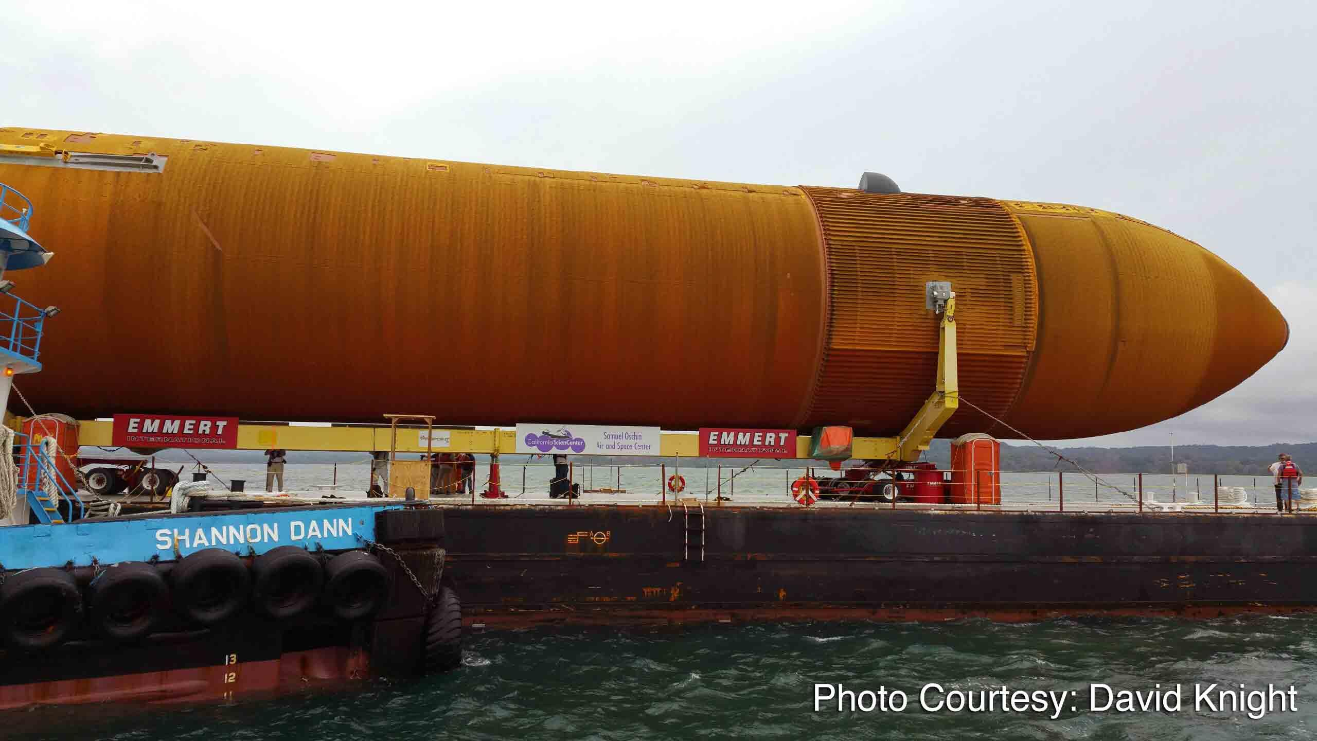 Slow Ride: Space Shuttle Fuel Tank Approaches Panama Canal On Journey To Los Angeles