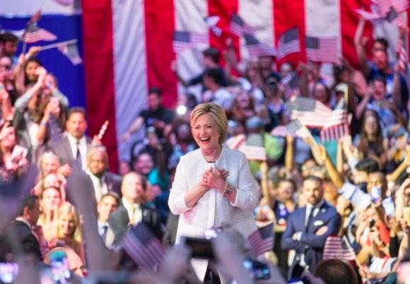 Watch Replay: Hillary Clinton's Historic Victory Speech Tuesday Night, June 7