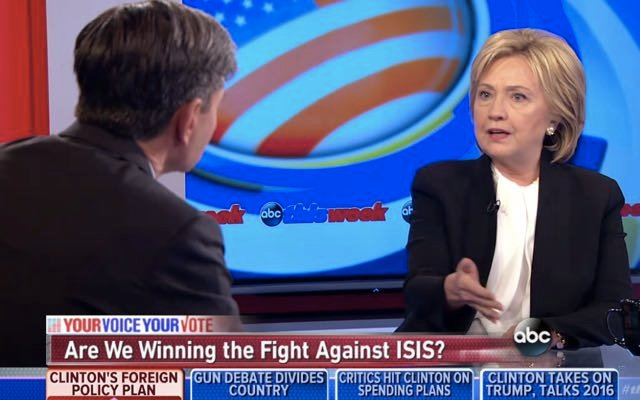 Hillary Clinton: Facebook, Twitter & YouTube Must Shut Down ISIS Social Media Accounts
