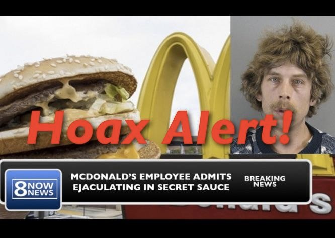 McDonald's Employee DID NOT Admit To Ejaculating In Big ...
