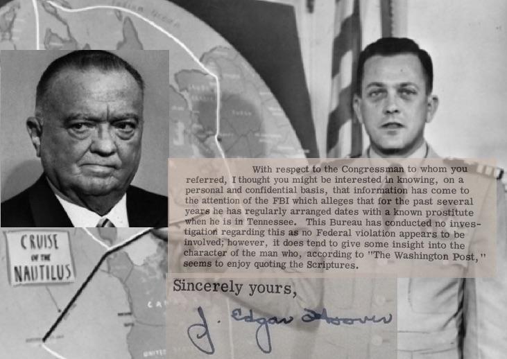History Uncovered: Secret Letter Shows FBI Director Using Leaks To Target Political Opponent