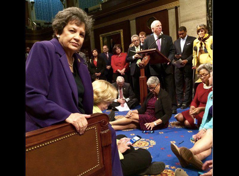 Watch Live: House Democrats Stage Sit-In Demanding Gun Control Vote