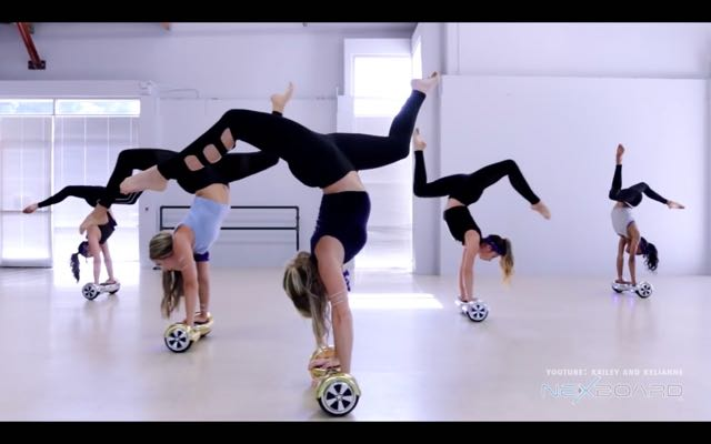 Dancers Amazing Hoverboard Routine To Justin Bieber's 'Sorry'