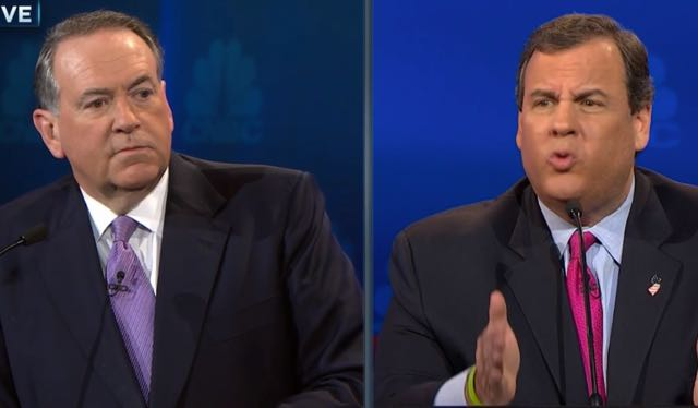 Chris Christie & Mike Huckabee Will Miss Next Big GOP Debate; Low Poll Numbers Put Them At Dark Horse Table
