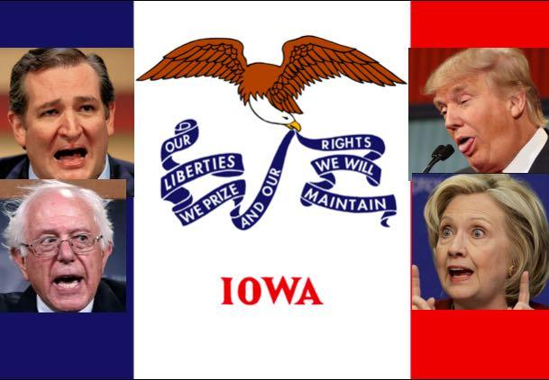 Iowa Caucuses: Cruz Beats Trump, But Clinton & Sanders In Virtual Tie
