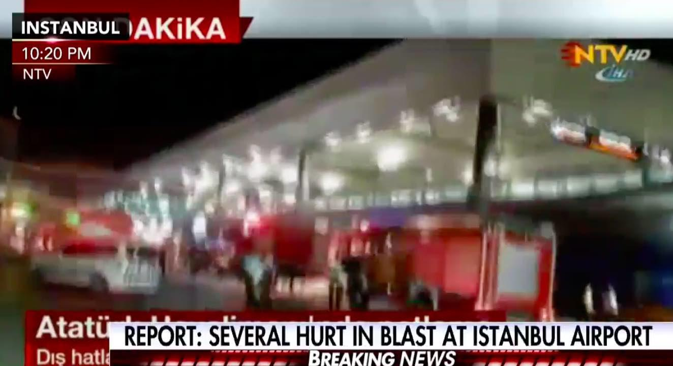 Watch LIVE Stream: 36 Dead, 147 Hurt,  In Gunfire, Explosions At Istanbul, Turkey, Airport