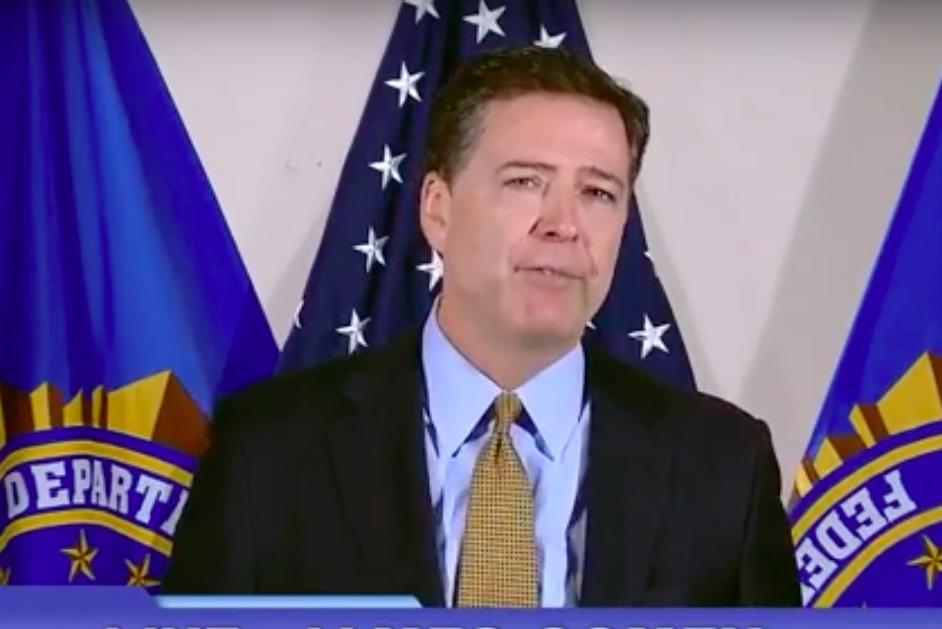 Watch Replay: FBI Director James Comey Announces No Charges Against Hillary Clinton In Email Probe